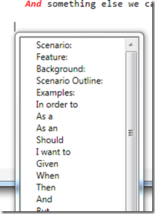 auto-completion
